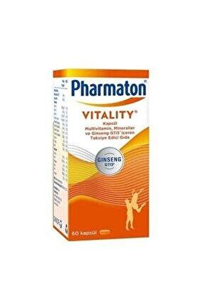 Vitality 60 Kapsül