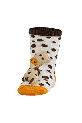 Oyuncaklı Bebek Çorabı