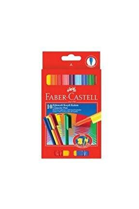 Fabercastell Eğlenceli Keçeli Kalem 10 Renk 111500