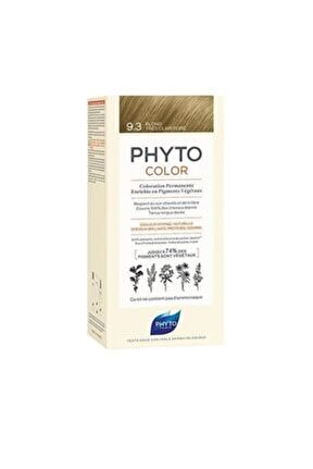 Color 9.3 Açık Sarı Dore Bitkisel Saç Boyası (YENİ AMBALAJ)