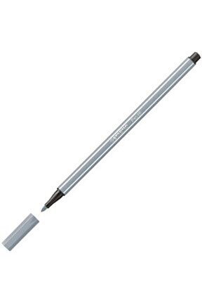 Pen 68 Keçeli Kalem - Soğuk Gri
