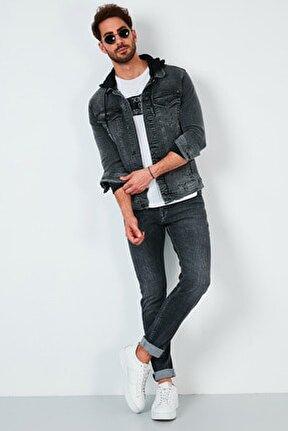 Pamuklu Regular Fit Jeans Erkek KOT PANTOLON 7537F203ZAGOR