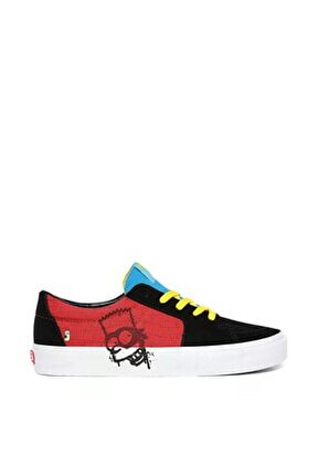 The Simpsons El Barto Sk8-low Erkek Ayakkabısı Vn0a4uuk17a1