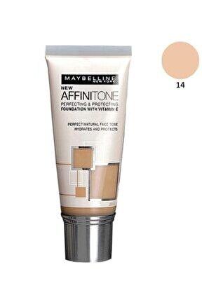 Nemlendirme Etkili Fondöten - Affinitone Foundation 14 Creamy 30 Ml 3600530427475