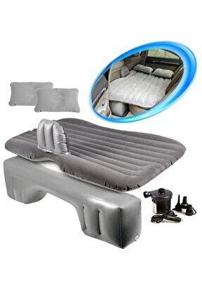 Araç Içi Şişme Araba Yatağı (arka Koltuk) + Pompa Hediye