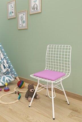 Çocuk Sandalyesi Tel Pudra