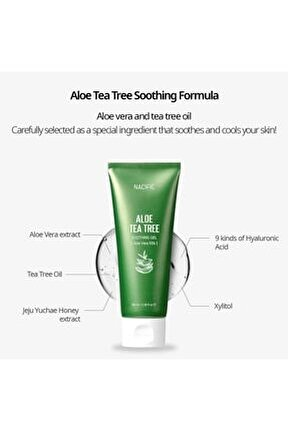 Aloe Tea Tree Soothing Gel - Yatıştırıcı Aloe Vera Jel 100ml