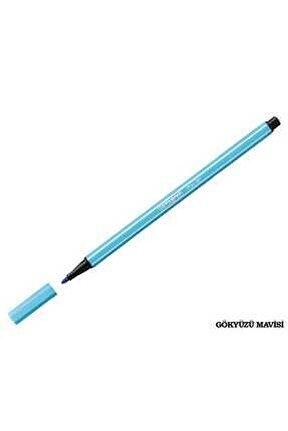 Pen 68 Keçeli Kalem - Gökyüzü Mavisi