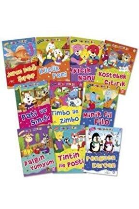 Mini Masallar Set 3 (10 Kitap) - Çocuk