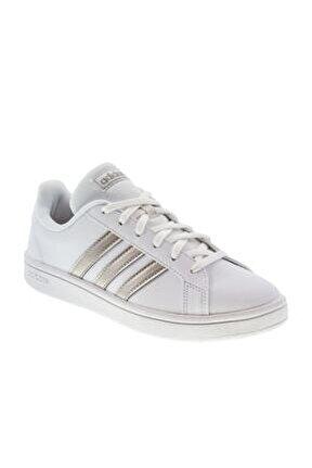 Grand Court Base Beyaz Kadın Sneaker Ayakkabı