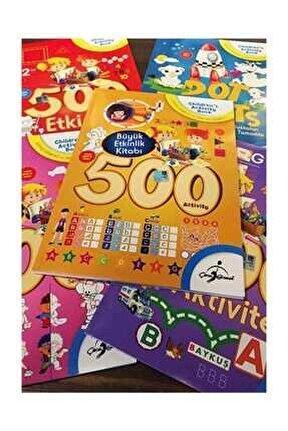 500 Etkinlik Aktivite 5 Kitap 320 Sayfa / Eğitici-Öğretici ve Zek