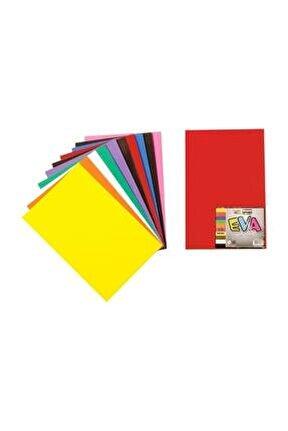 Düz Eva 10 Renk 20x30 Cm