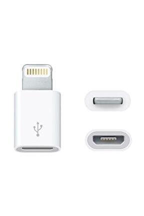 Micro Usb Den Lightning Iphone Uyumlu Dönüştürücü Otg Çevirici