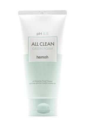 All Clean Green Foam - Ph 5,5 Değerinde Hassas Ciltlere Için Temizleyici 150 ml