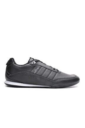 W-dakar Siyah Erkek Düz Taban Sneaker