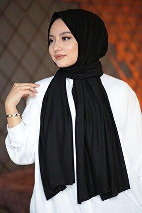 Kadın Penye Şal Siyah