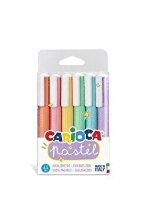 Pastel Renkler Işaretleme Kalemi 6'lı