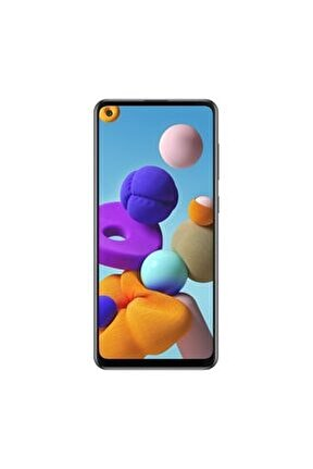 Galaxy A21s 128GB Siyah Cep Telefonu (Samsung Türkiye Garantili)