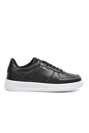 Zigana 002 Siyah Kadın Düz Taban Sneaker