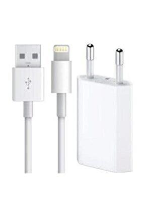 Apple Iphone Orjinal Kutulu Şarj Aleti Usb Lightning Data Kablosu 5 6 7 S Plus Tüm Serilere Uyumlu