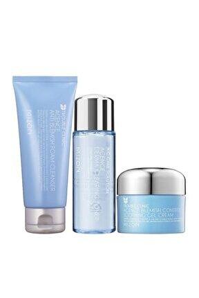 Mızon Acence Antı Blemısh Foam Cleanser+derma Clearıng Toner+control Soothıng Gel Cream