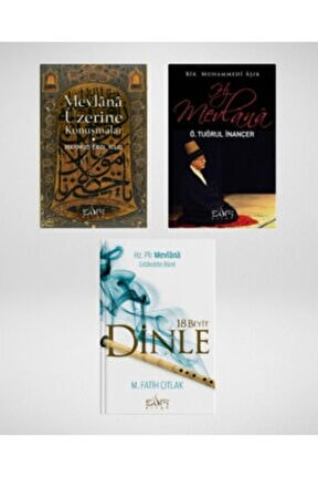 Hz. Mevlana'yı Okumak Seti (3 Kitap) Hayat Nur Artıran, M. Fatih Çıtlak, Mahmud Erol Kılıç