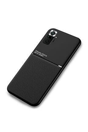 Xiaomi Redmi Note 10 Kılıf Design Silikon Kılıf Siyah