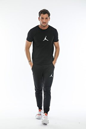 Siyah Basketball Eşofman Takımı