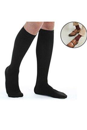 Erkek 3'lü Uzun Dizaltı Çorap