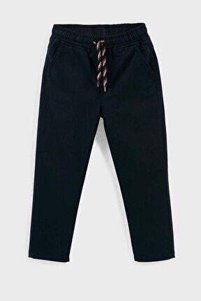 Belden Bağlamalı Cepli Pantolon Unisex Çocuk Pantolon 6082023