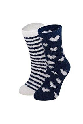 Home Socks Lacivert Ev Çorabı