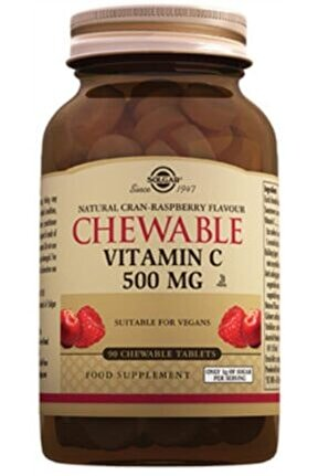 Chewable Vitamin C 500 mg 90 Tablet