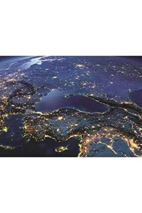 Puzz Uzaydan Türkiye 1000 Parça Puzzle 260394-99 /