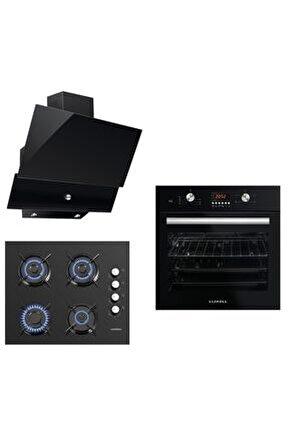 Cam Panel Black Diamond Button Ankastre Set