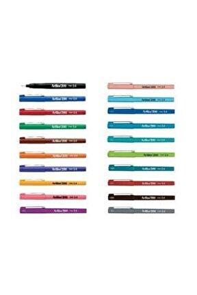 200 Fineliner 0.4 Mm Ince Uçlu Yazı Ve Çizim Kalemi 20'li