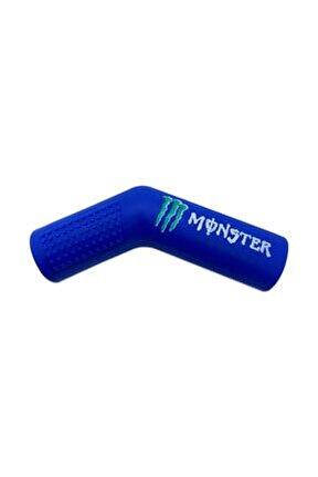 Monster Motosiklet Evrensel Mavi Vites Çorabı Pedi