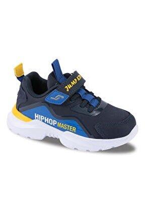 25780 Patik Erkek Çocuk Spor Ayakkabı-lacivert Saks Mavi