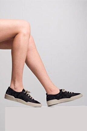 Kadın Taş Detaylı Spor Ayakkabı