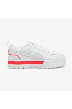 Mayze Kadın Platform Beyaz Spor Ayakkabı