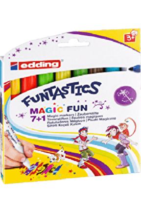 13 Funtastics Magic Fun Sihirli Keçeli Kelem 8'li