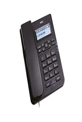 Tm145 Siyah Kulaklıklı Ekranlı Masa Üstü Telefon