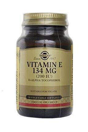 Vitamin E 200ıu 50 Kapsül
