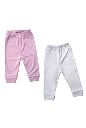 2'li Kız Bebek Pijama Altı