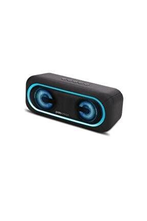 Led Işıklı Kablosuz Hoparlör -mavi Fs37