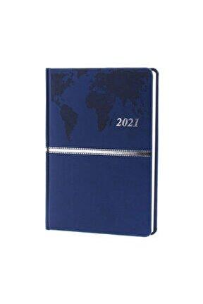 2021 Collection 17x24 336 Sayfa Altın Varaklı Ajanda Aj-7008