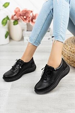 Hakiki Deri Günlük Kadın Ayakkabı Dc3348