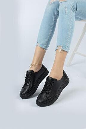 Hakiki Deri Günlük Kadın Ayakkabı Dc2062