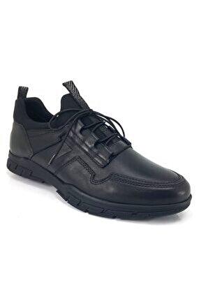 14023 Günlük Erkek Ayakkabı-siyah