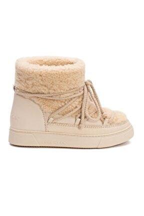 Hakiki Kürklü Kadın Sneakers 355067