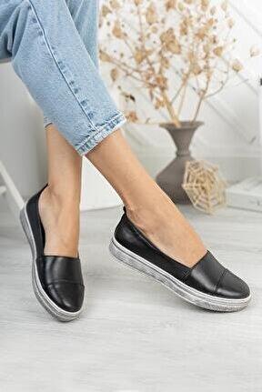 Hakiki Deri Kadın Günlük Ayakkabı Dd3349